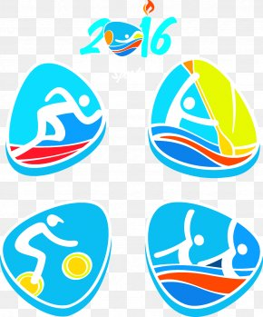Rio Olympics - 2016 Summer Olympics Rio De Janeiro Paralympic Games Pictogram Olympic Sports PNG