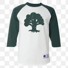 T-shirt - T-shirt Raglan Sleeve Crew Neck PNG