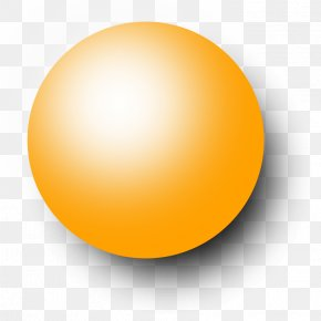 Yellow Ball Cliparts - Sphere PNG