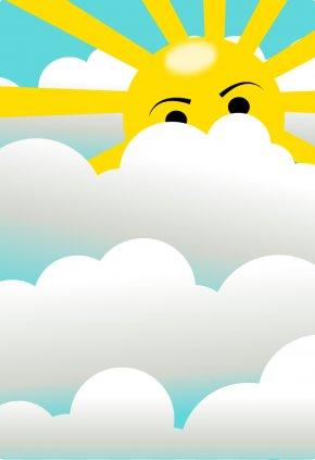 Graphic Lightning Bolt - Cloud Sunlight Sky Clip Art PNG