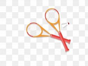 Badminton And Badminton Racket - Badminton Racket Tennis PNG