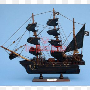 Ship - Ship Model Golden Age Of Piracy Queen Anne's Revenge PNG