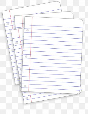 Lined Paper Clipart - Ruled Paper Notebook Clip Art PNG