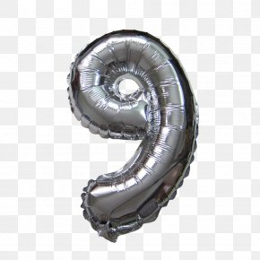 Number Balloon - Tire Wheel Metal Machine Computer Hardware PNG