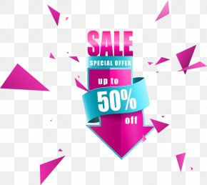Vector Discount Sale Arrow - Poster Euclidean Vector PNG