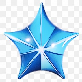 Star Blue - Blue Star PNG