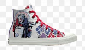 Converse - Sneakers Harley Quinn Chuck Taylor All-Stars Converse Nike PNG
