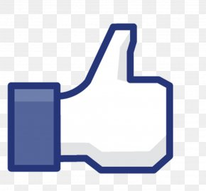 Facebook, Thumbs Up Icon - Facebook Like Button Clip Art PNG
