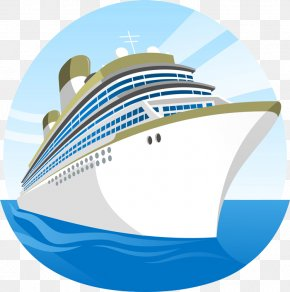Cruise Ship - Cruise Ship Cartoon Clip Art PNG