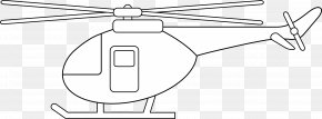 Helicopter - Helicopter Drawing Line Art Clip Art PNG
