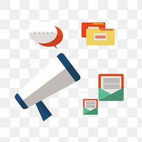 Vector Megaphone - Digital Marketing Email Marketing Social Media Marketing Pay-per-click PNG