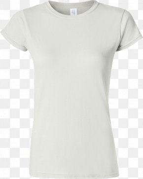 White Shirt - T-shirt Gildan Activewear Sleeve Wholesale Clothing PNG