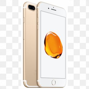Telephone Apple FaceTime Smartphone Gold PNG
