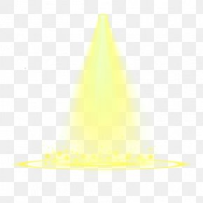 Yellow Fresh Ray Ray Effect Element - Yellow Lightning Green PNG