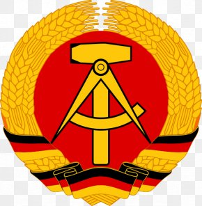Tshirt - National Emblem Of East Germany Coat Of Arms Of Germany PNG