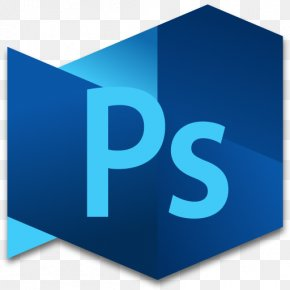Photoshop Extended 4 - Electric Blue Text Brand PNG