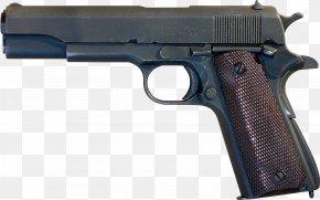 Hand Gun - M1911 Pistol .45 ACP Semi-automatic Pistol Semi-automatic Firearm PNG