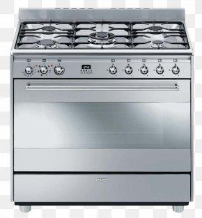 Stove - Smeg Gas Stove Kitchen Stove Hob Oven PNG
