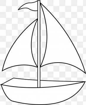 Simple Boat Cliparts - Clip Art: Transportation Black And White Drawing Clip Art PNG