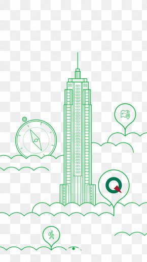 Green Building - Architecture Green Building Designer Illustration PNG