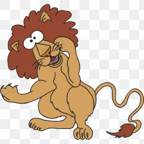 Lion - Lion Cartoon Clip Art PNG