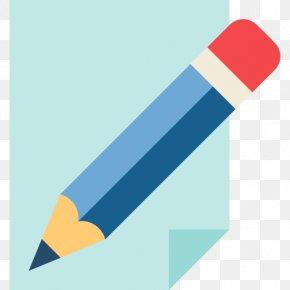 A Pencil - Paper Pencil Document Icon PNG