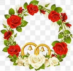 Wedding Frame - Rose Flower Stock Photography Clip Art PNG