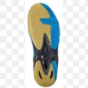Badminton Tournament - Shoe Electric Blue Teal Aqua Footwear PNG