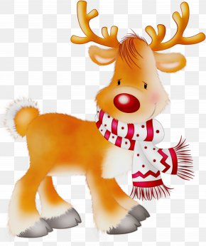 Toy Stuffed Toy - Reindeer PNG