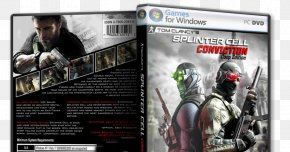 Tom Clancy's Splinter Cell Conviction - Tom Clancy's Splinter Cell: Conviction Tom Clancy's Ghost Recon: Future Soldier Europa Universalis: Rome Video Game PNG