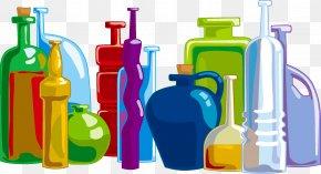 Liquid Bottle - Water Bottle Clip Art PNG