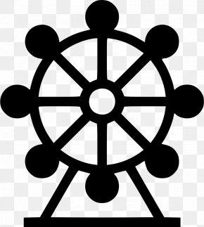 Ferris Wheel - Car Ship's Wheel Boat Steering PNG
