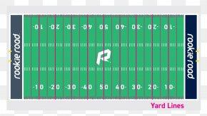 Football Lawn - NFL Hash Marks American Football Field Los Angeles Rams PNG