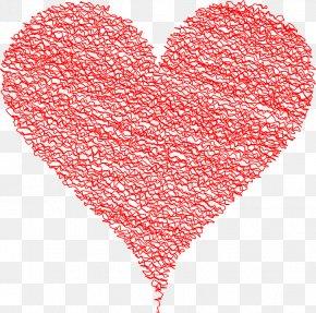 Abstract Hearts - Heart Desktop Wallpaper Valentine's Day Clip Art PNG