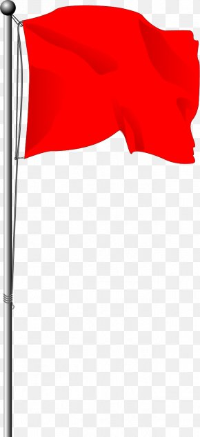 Vector Painted Red Lever - Red Flag Area Angle Font PNG