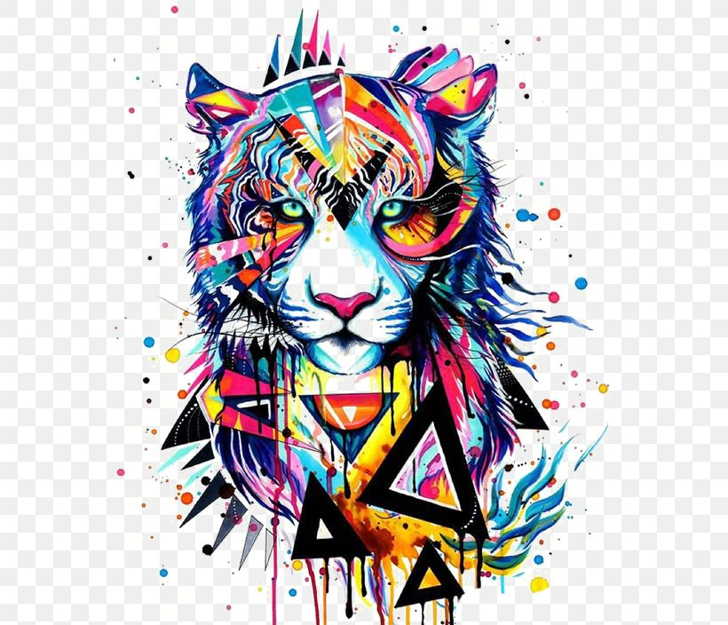 Art Watercolor Painting Drawing Canvas, PNG, 564x704px, Art, Artist, Big Cats, Canvas, Canvas Print Download Free