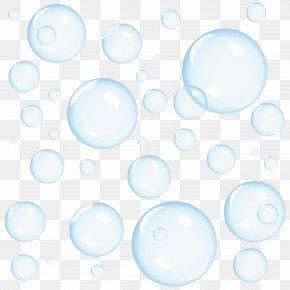 Bubbles Picture - Blue Sky PNG