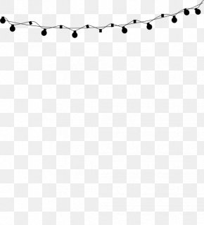 String Lights Cliparts - Black And White Line Angle Point PNG