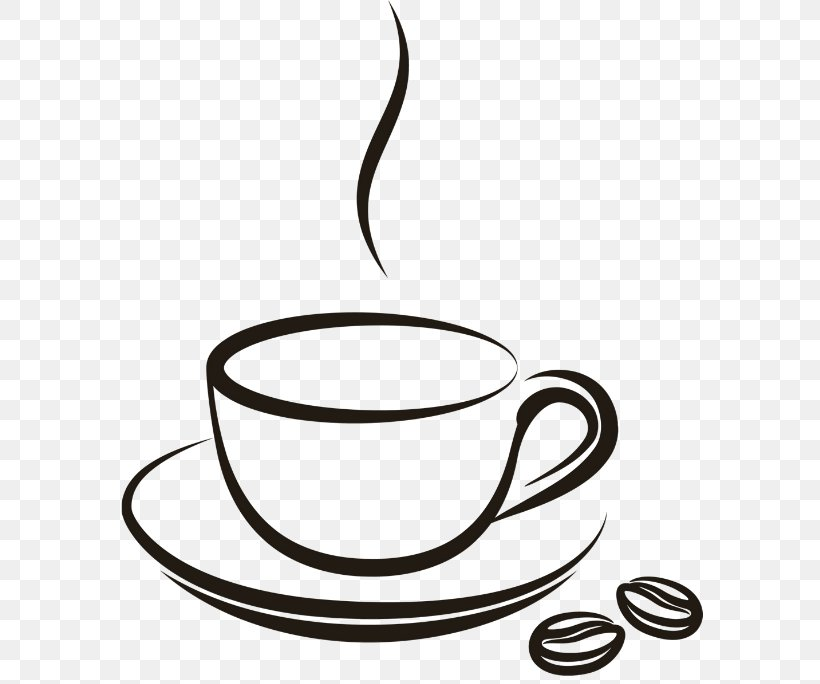 Coffee Cup Latte Tea Clip Art Png 600x684px Coffee Artwork Black And White Cappuccino Coffee Cup