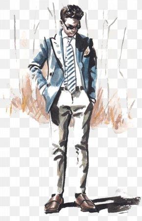 Fashion Suit - New York Fashion Week Suit Fashion Illustration Illustration PNG