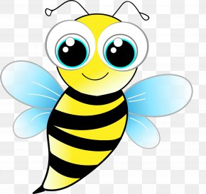 Bee - Bee Clip Art Insect Image Cartoon PNG
