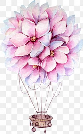 Painting - Floral Design Watercolor Painting Drawing Art PNG