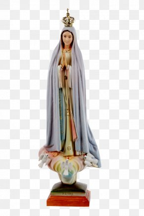 Nossa Senhora - Our Lady Of Fátima Statue Our Lady Of The Rosary Marian Apparition PNG