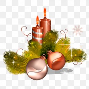 Christmas Candles Creative Bell - Still Life Photography Christmas Ornament Leaf Wallpaper PNG