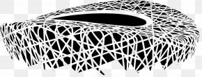 Nest Sketch - Beijing National Stadium Drawing 2008 Summer Olympics PNG