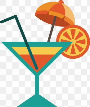 Vector Fruit Juice - Cocktail Garnish Juice Martini Drink PNG