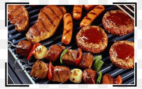 Barbecue - Barbecue Chicken Hamburger Grilling Spare Ribs PNG
