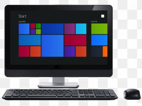 Desktop Computer - Laptop Desktop Computers Personal Computer Screenshot PNG