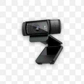 USB 2.0 High-definition VideoWebcam - Logitech C920 Pro 1080p Logitech HD Pro C920 Webcam PNG
