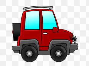 Cute Vehicle Cliparts - Sport Utility Vehicle Car Jeep Clip Art PNG